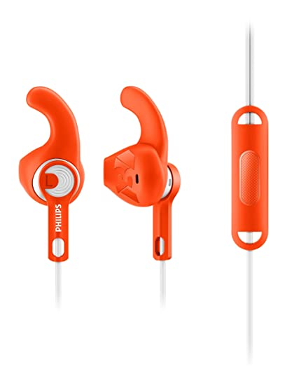 b7f67be9b34 Philips Actionfit SHQ1305OR/00 Sports Headphones with: Amazon.in:  Electronics