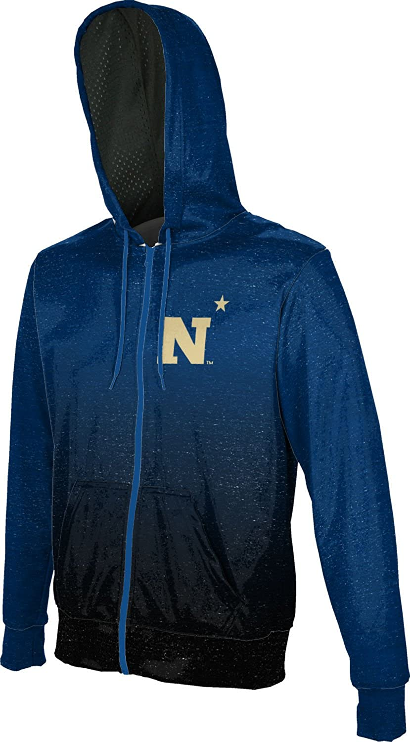 ProSphere United States Naval Academy University Boys Full Zip Hoodie Ombre