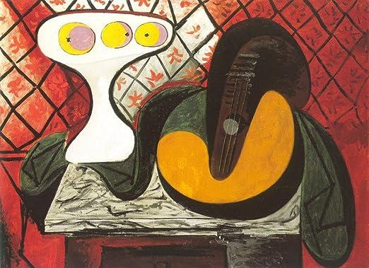 ColorfulStream Compotier et mandolina (Guitarra) por Pablo Picasso ...