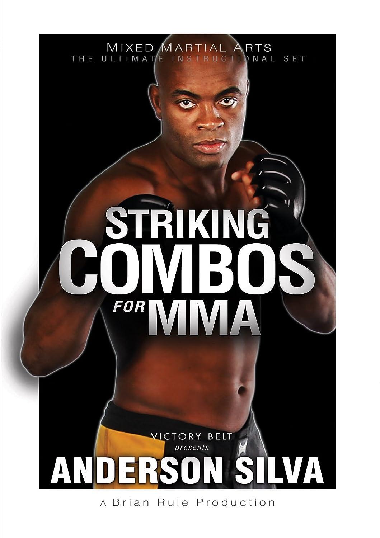 amazon com striking combos for mma anderson silva brian rule rh amazon com Anderson Silva Fight Finder Anderson Silva Wallpaper
