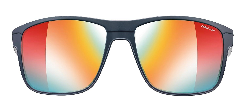 cb0a842a1d Amazon.com  Julbo Renegade Performance Sunglasses - REACTIV Zebra Light -  Black Red  Sports   Outdoors