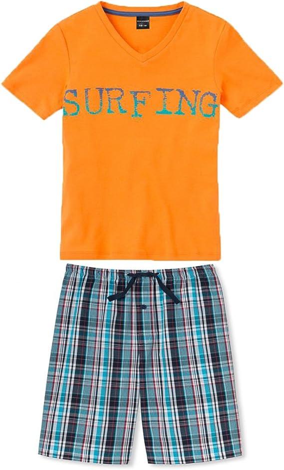 Schiesser Schlafanzug kurz Jungen Sommer NEU