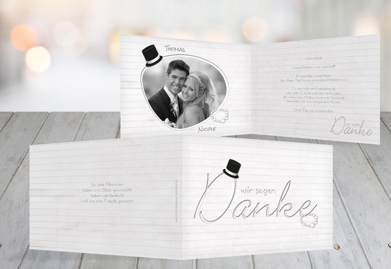 Kartenparadies Danksagung für Hochzeitsgeschenke Hochzeit Dankeskarte Kette Zylinder, hochwertige Danksagungskarte Hochzeitsglückwünsche inklusive Umschläge   10 Karten - (Format  148x105 mm) Farbe  Rosa B01NAVMLUC   Modern    Moderne