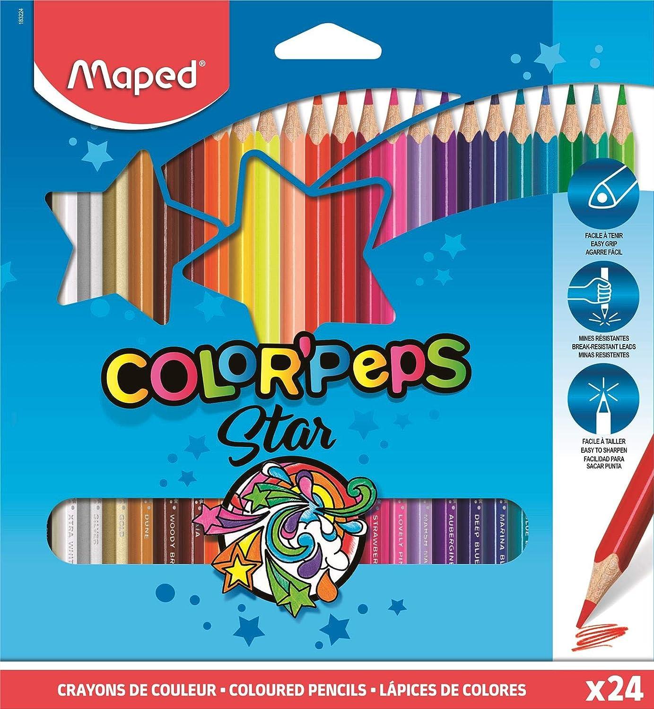 Pastelli Triangolari ColorPeps Animal In X24 Col WIGO
