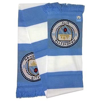 Manchester City FC Scarf Fan Scarf Bufanda SCIARPA Football Football Premier   Amazon.co.uk  Toys   Games eb93d18fb4b