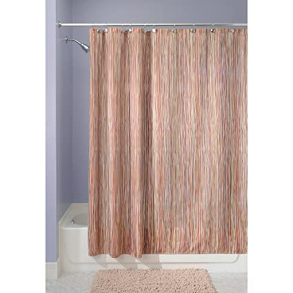 Delightful InterDesign Oodle Fabric Shower Curtain, 72 Inch By 72 Inch, Earthtone