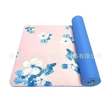 Alfombra de Yoga Impresa TPE de Yoga (173cm * 61cm): Amazon ...
