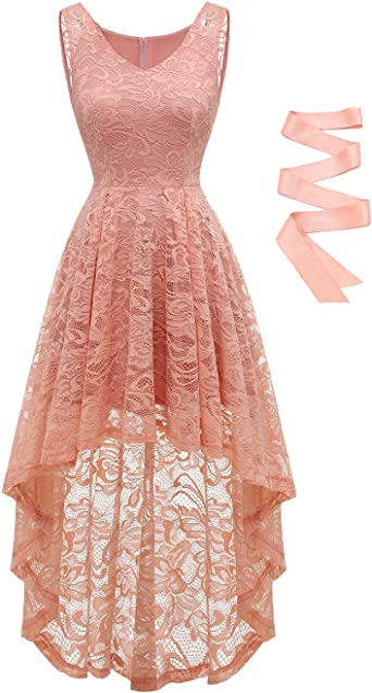 Ladies Beautiful Prom Party Cream Lace Removable Straps Dress Size 14-16