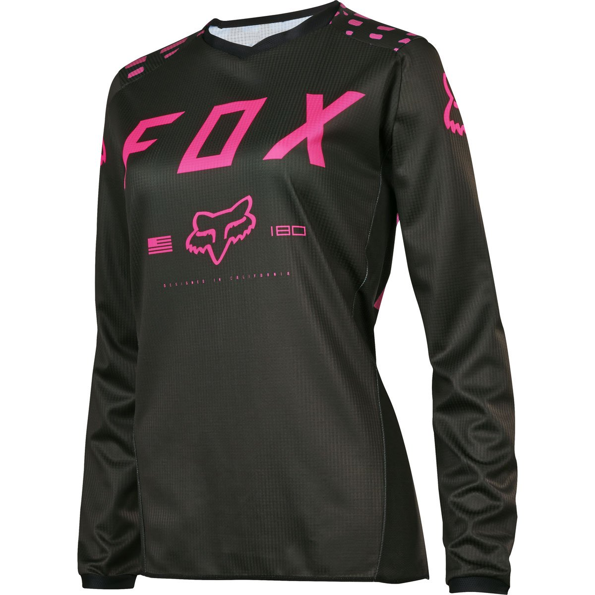 Fox Racing 2017 Womens 180 Jersey-Black/Pink-XS