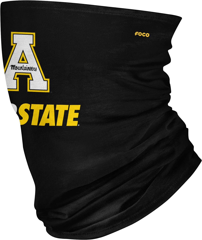 FOCO NCAA Unisex-Adult NCAA Team Logo Neck Gaiter Multiuse