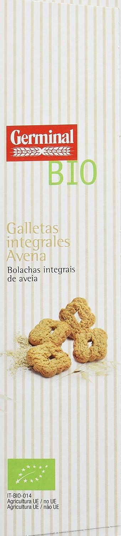 Germinal Galletas Integrales de Avena Sin Gluten - Paquete de 8 x 250 gr - Total: 2000 gr: Amazon.es: Alimentación y bebidas