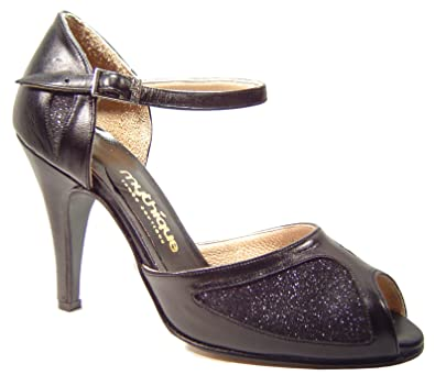 Mythique Womens Tango Ballroom Salsa Latin Dance Shoes Tita ...