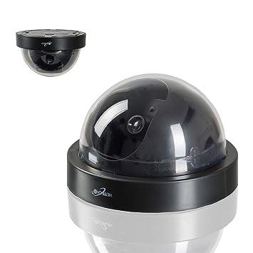 Cámara de seguridad Safe2Home®, de alta calidad, en forma de cúpula, para