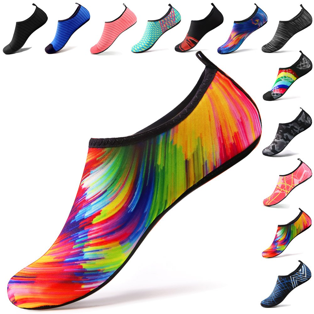 STEELEMENT. Water Shoes Yoga Shoes for Men & Women Sports Yoga Socks Perfect Stockings for Hiking Climbing Swimming Athletic Travel(WS09-38)