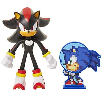 "Sonic The Hedgehog 4"" Shadow Action Figure: Toys & Games"