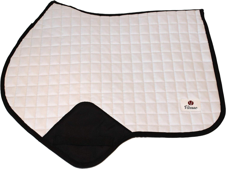 White Vitesse Jump Saddle Pad