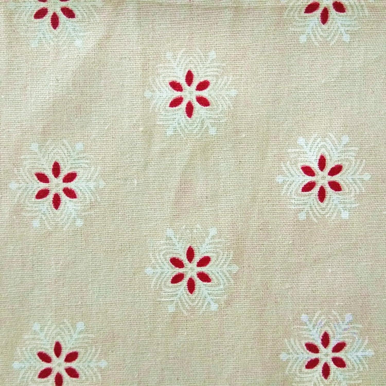 1,6 Meter Weihnachts Schneeflocke Muster Baumwolle Leinen Nähen Tuch ...
