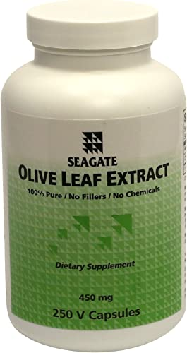 Seagate Products Olive Leaf Extract 450mg 250 Capsule