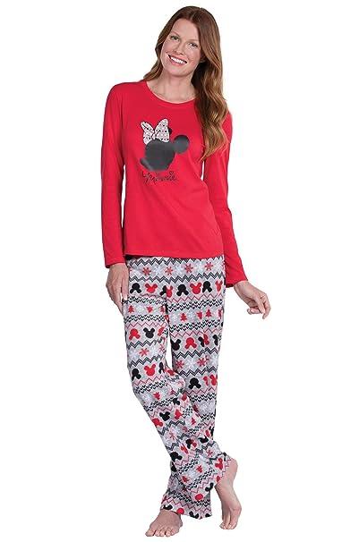 Christmas Pajamas Womens.Pajamagram Fun Womens Christmas Pajamas Disney Pajamas Women Red