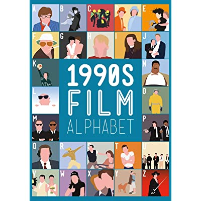 Buffalo Games -1990's Film Alphabet - 300 Piece Jigsaw Puzzle: Toys & Games