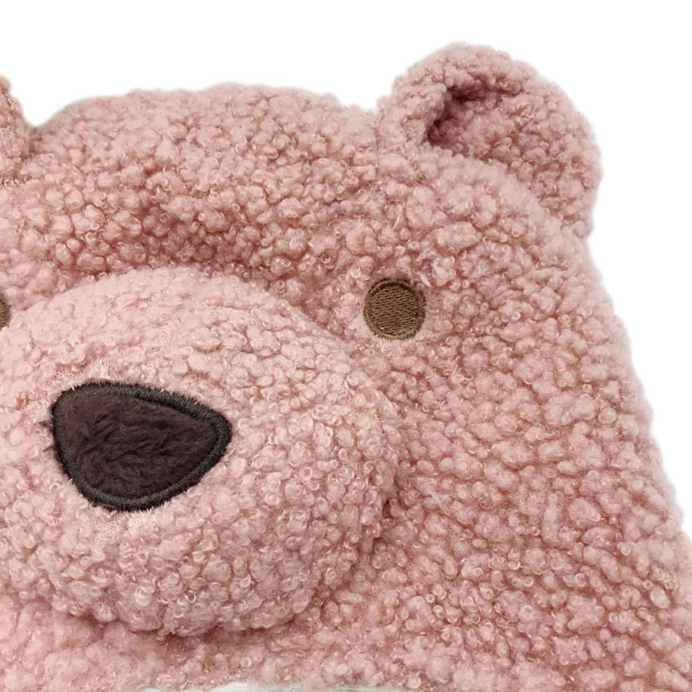 Gyrategirl Winter Warm Hat Toddler Baby Boys Girls Cartoon Cat Knitting Caps Kids Headwrap Ear Warmer