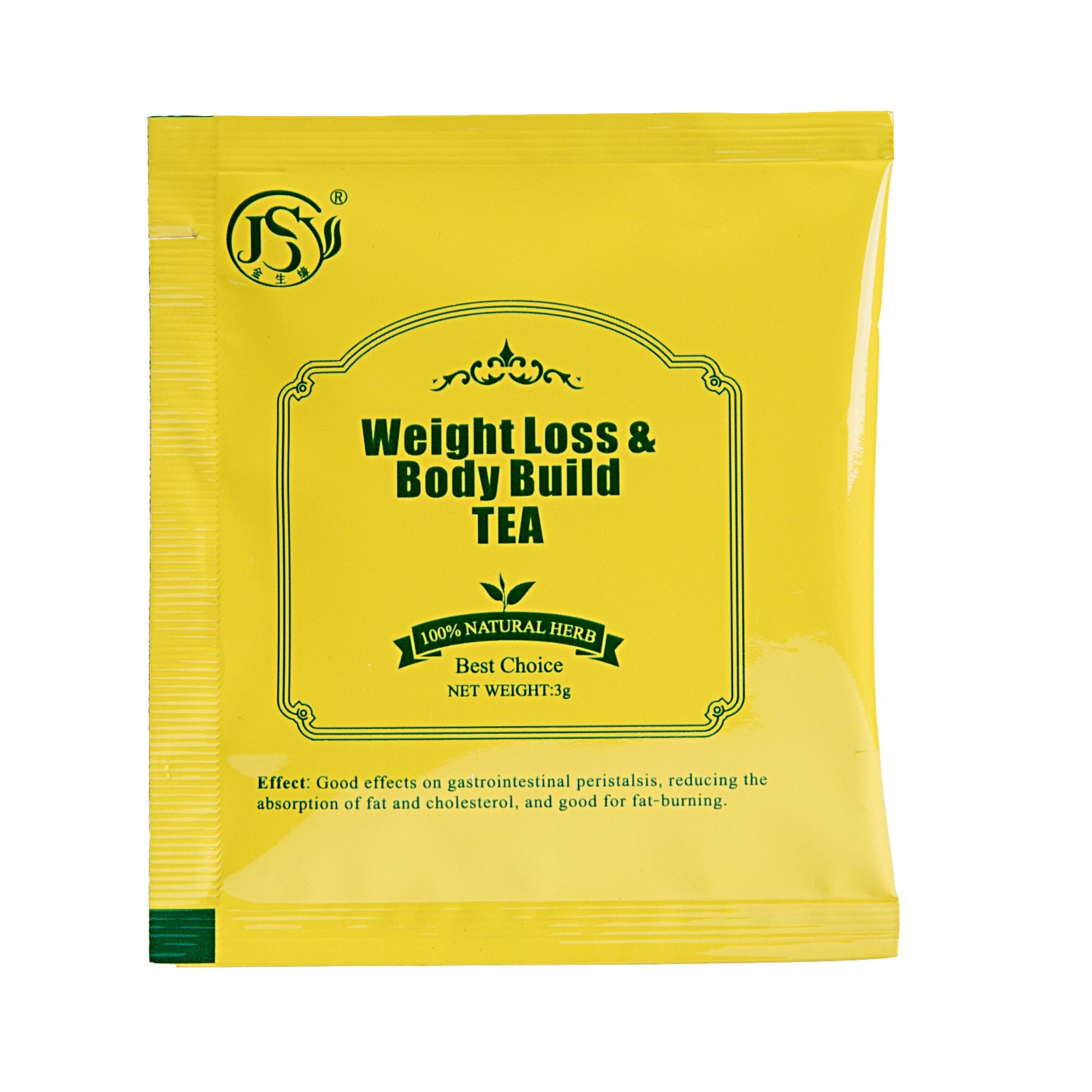 JSY 16 Day Detox Herbal Weight Loss Tea Premium Chinese Slimming Green Tea for Reduce Fat Lipo Targets Belly Fat, All Natural Blend of Oolong Tea Green Tea and Senna, Father\'s Day Gift for Health
