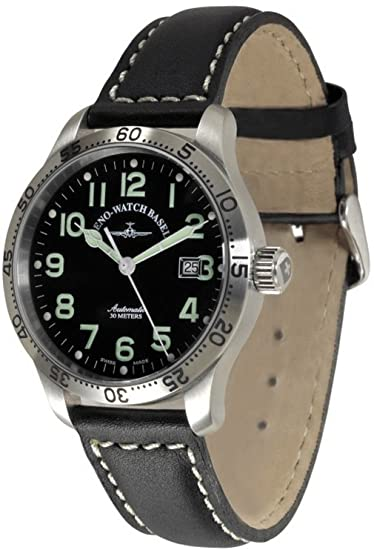 Zeno-Watch Reloj Mujer - New classic pilot Automática Tachymeter - 9554T-a1