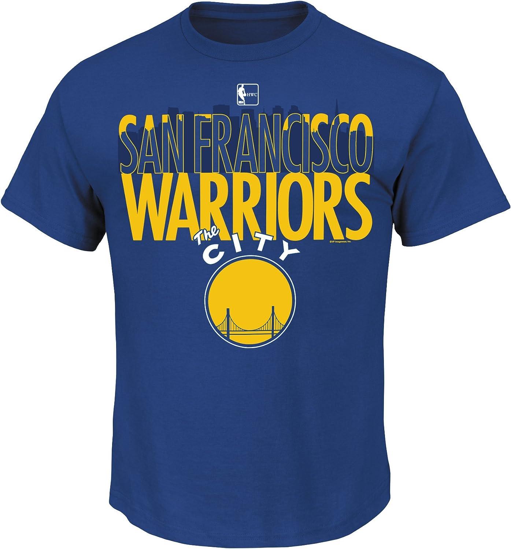 Majestic Golden State Warriors Hardwood Classics Skyline T-Shirt