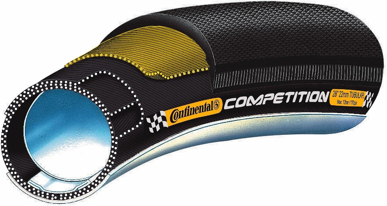 Continental Competition - Tubular para bicicleta de carreras, 28