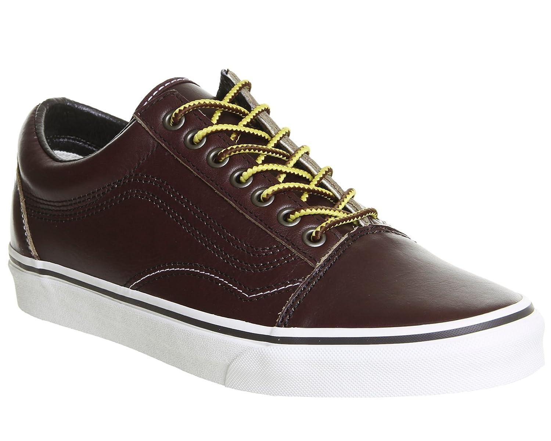 Vans Unisex Old Skool Classic Skate Shoes B074Y2QHNB 8.5 B(M) US Women / 7 D(M) US Ground Breakers Rum Raisin Marshmallow