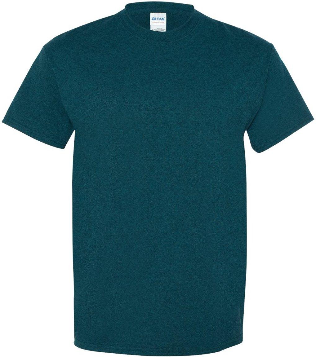 (ギルダン) Gildan メンズ ヘビーコットン 半袖Tシャツ トップス カットソー 定番 男性用 B014WBWS4S L|ミッドナイト ミッドナイト L