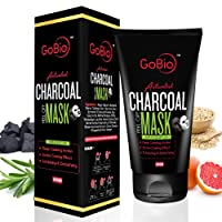 GoBio Activated Charcoal Peel Off Mask, 60g