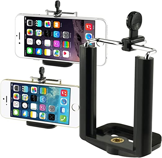 RONSHIN Phone Accessories,Universal Smartphone Tripod Adapter Cell Phone Holder Mount for iPhone iPad