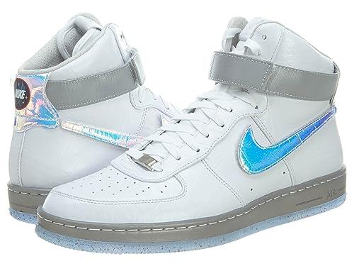 size 40 d1228 4e091 Nike Air Force 1 Downtown HI LW QS Mens Sneaker White 632 360 100, Size