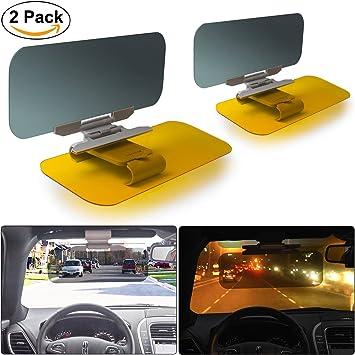 Anti-Dazzle Visor Extender Goggles for Cars DRIVIM Car Sun Visor HD Anti-Glare Universal Size 2 in 1 Day Night Windshield Visor