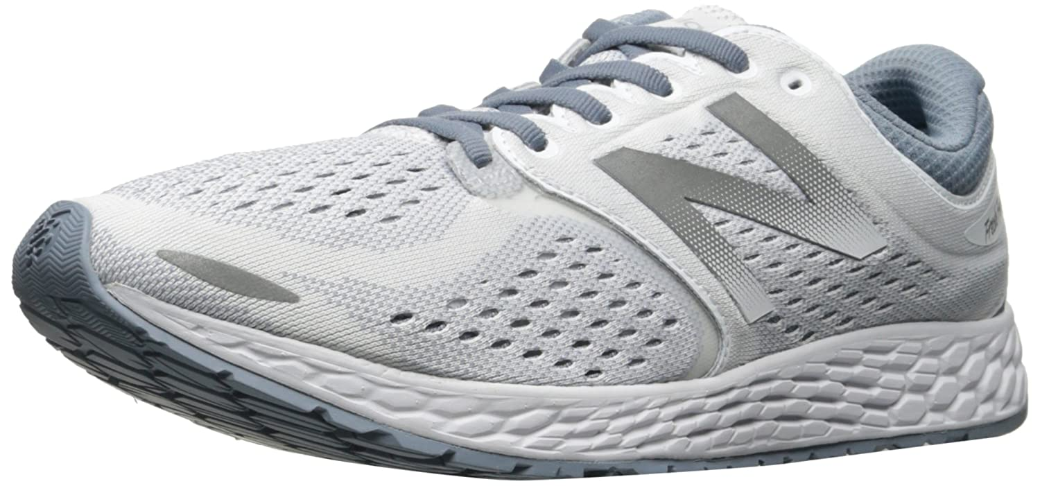 New Balance Women's ZanteV2 Breathe Running Shoe B01M0K4PVN 7 B(M) US|White/Reflection