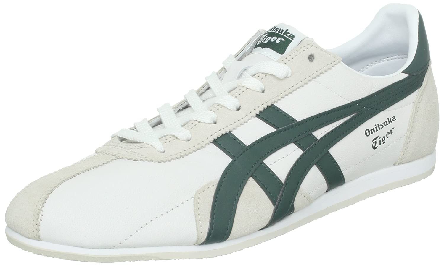 huge discount 0aa73 0363f ASICS - Mens Onitsuka Tiger Runspark Shoes In White/Dark ...