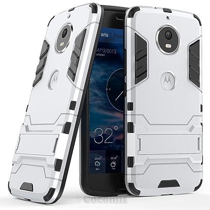 Cocomii Iron Man Armor Motorola Moto G5S Funda [Robusto] Superior Táctico Sujeción Soporte Antichoque