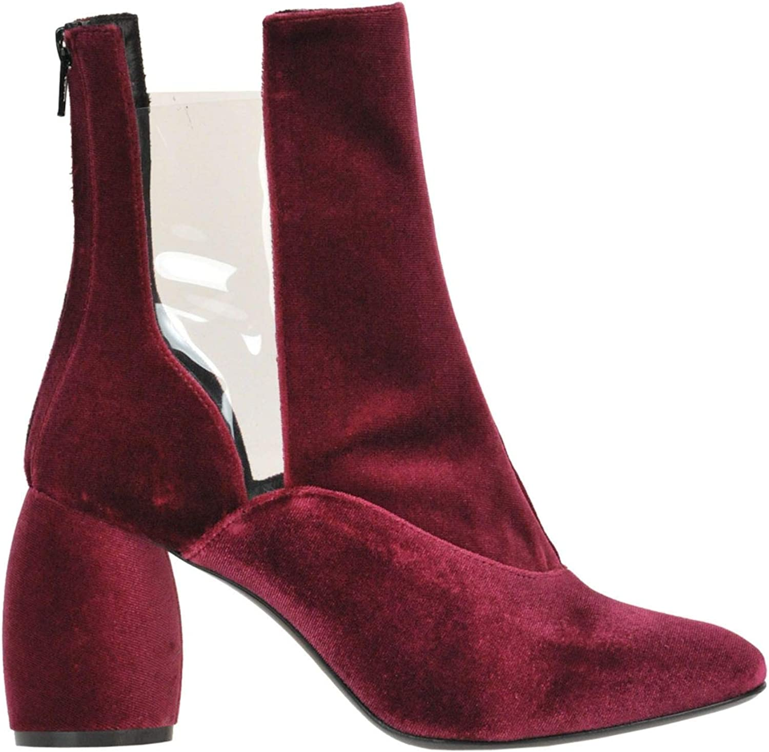MARC ELLIS Luxury Fashion Womens Ankle Boots Spring Red