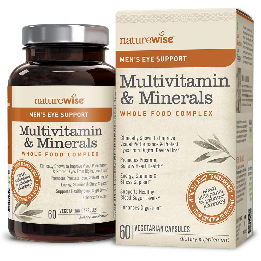 Best Mens Multivitamin 2020 Amazon.com: NatureWise Men's Whole Food Multivitamin with Eye