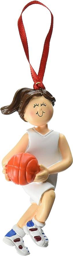 Ornament Central OC-101-FBR Female Basketball Figurine