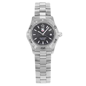 e609da79b76 Image Unavailable. Image not available for. Color  Tag Heuer Aquaracer  Quartz Female Watch WAF1410.BA0812 (Certified Pre-Owned)