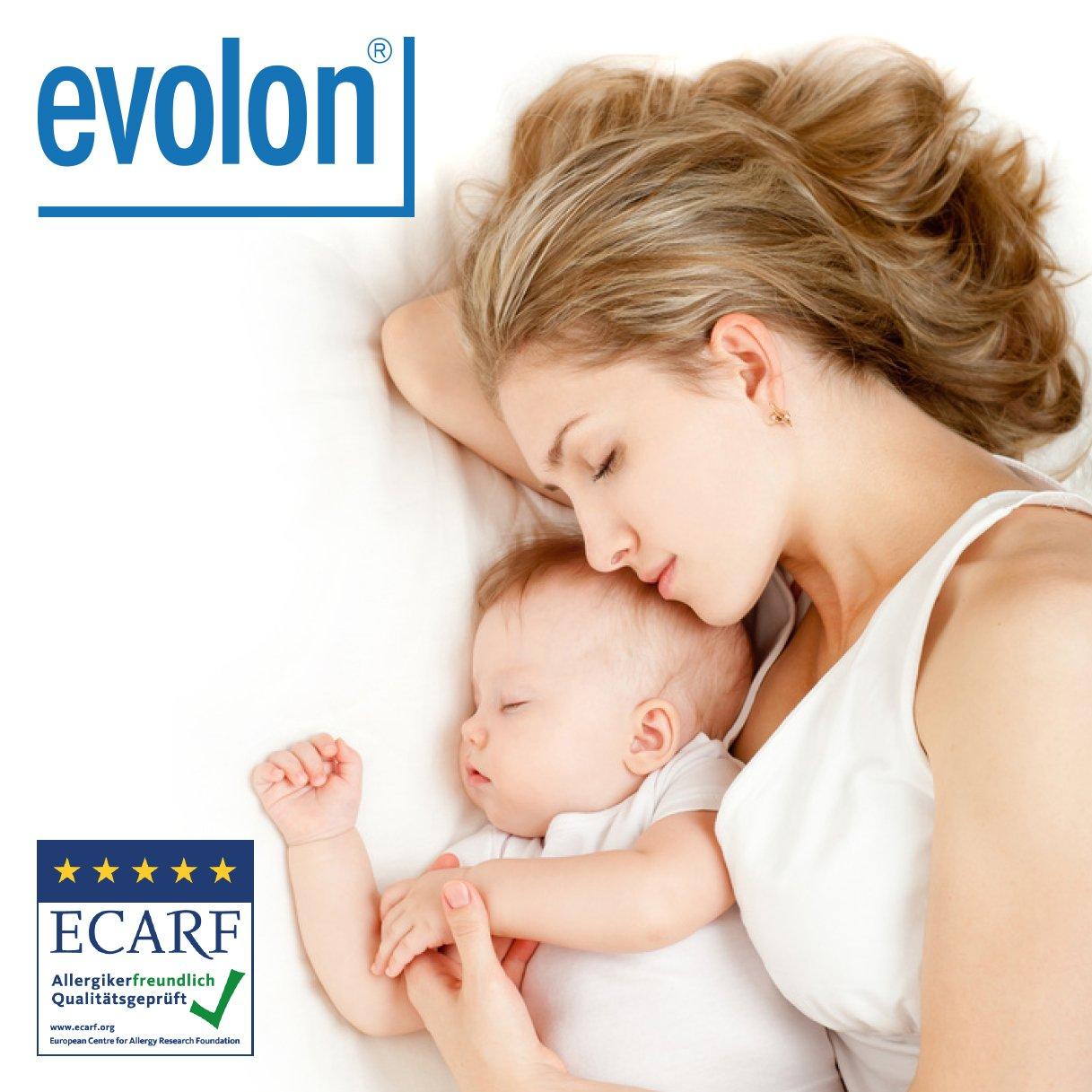 Evolon® - Coprimaterasso Antiacaro con cerniera (80x200x20cm) Allergosystem