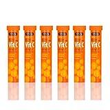 Vitamin C 1000mg Effervescent Family Bundle 120 Tablet Value Pack