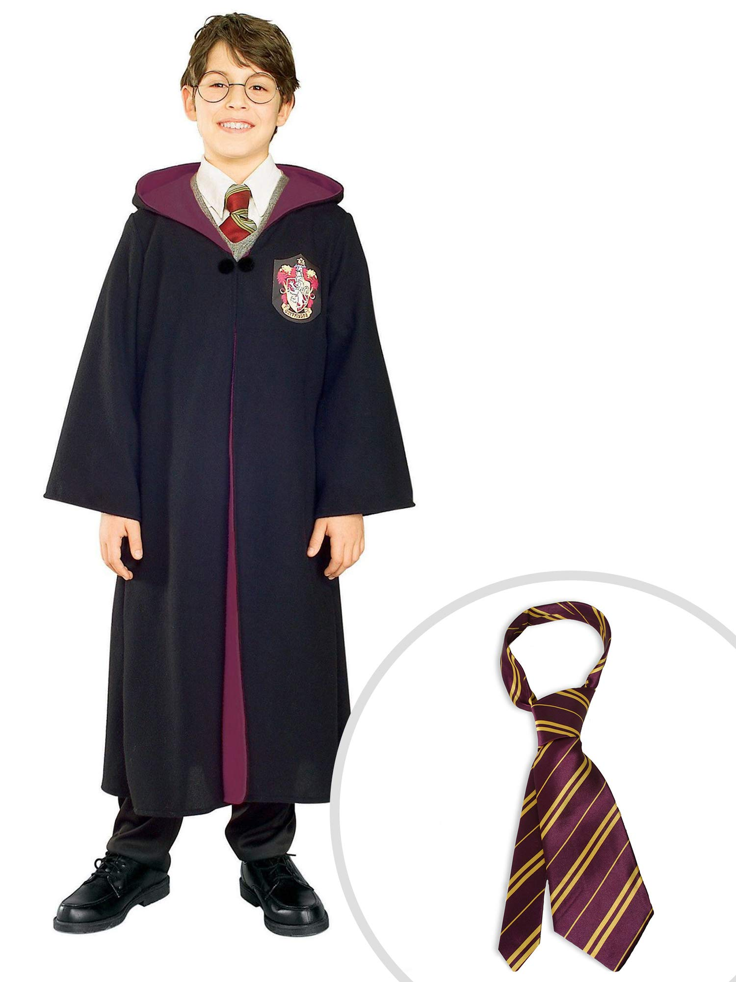 Harry Potter Robe Toddler Costume Kit Kids Toddler 2T-4T With Tie