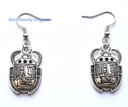 Amazoncom Beetle Earringsgift Ideas For Her Jewelry Earrings