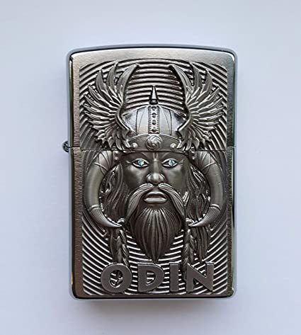 Zippo 2.005.286 Odin with Blue Eyes – Limited Edition 0001/1000 – Cromo