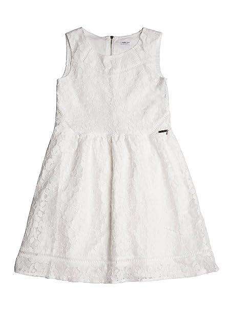 5b06d507a4 Guess - Abito - Ragazza Bianco 10 Anni: Amazon.it: Abbigliamento