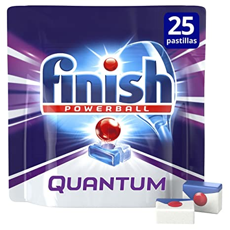 Finish Lavavajillas Quantum Mo - 25 Pastillas: Amazon.es: Amazon ...