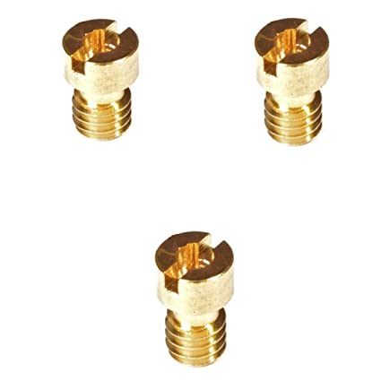 Amazon com : Set of 3 CVK Main Jets 50cc 80cc 100cc GY6